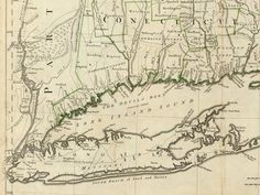 Map of Fairfield CT coast from 1776 where my Vaughans were living when forced to migrate.
