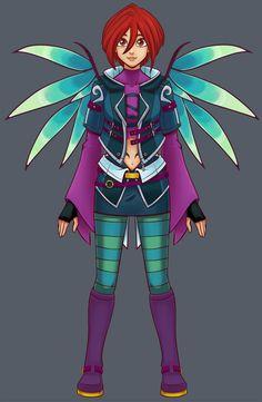 w.i.t.c.h/KH Will Vandom design by Chulala.deviantart.com on @deviantART