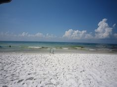 Seagrove Beach, Florida. I am here right now! We come every year and enjoy all the little communities around here and on 30-A such as Seaside, Watercolor, Rosemary, Seacrest...beautiful, beautiful beaches on the Gulf.