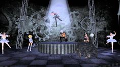 This is a video from secondlife -dance show 2014 -Le Cirque de Nuit- in Secondlife  Setsuna Hirano@IMAGE セカンドライフ2014