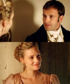 Emma & Knightley - My absolute favorite Jane Austen couple.. I could watch this mini series all day.