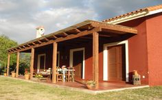 Discover recipes, home ideas, style inspiration and other ideas to try. Village House Design, Village Houses, Gazebo, Pergola, Adobe House, Weekend House, Hacienda Style, Spanish House, Farmhouse Plans