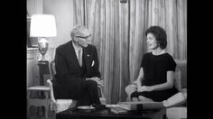 Jacqueline Kennedy speaks to Dr. Spock