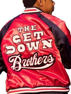 Become the hip-hop singer right from the and lead your melodious buddies with the Dizzee Bronx eminence The Get Down Brothers Jacket. Hip Hop Singers, Film Jackets, You Are My Moon, The Get Down, Famous Names, Jaden Smith, Set Me Free, Hip Hop Outfits, Netflix And Chill