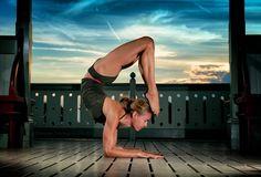 Cover - Lucy Castell (Scorpion Pose - Vrschikasana)   by Denise Sarazin   Milagro Photography