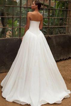 Fancy Wedding Dresses, Amazing Wedding Dress, Wedding Events, Bridal Gowns, One Shoulder Wedding Dress, Satin, Princess, Easy, Fashion