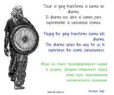 tocar el gong y el dharma