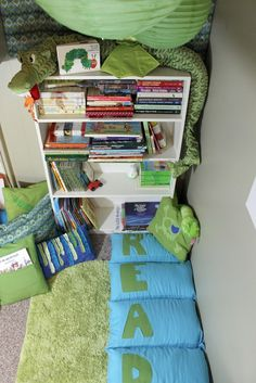 One For The Boys ~ Quick Reading Nook » Dragonfly Designs