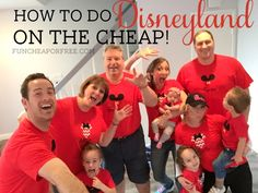 Disneyland on the cheap! a 3-part post series with videos from FunCheapOrFree.com