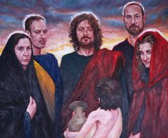 Rob Floyd Fine Art - Stations of the Resurrection, 11. Christ Commissions the Disciples Upon the Mountain