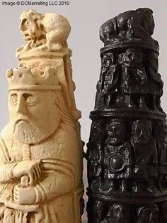 Medieval Plain Theme Chess Set