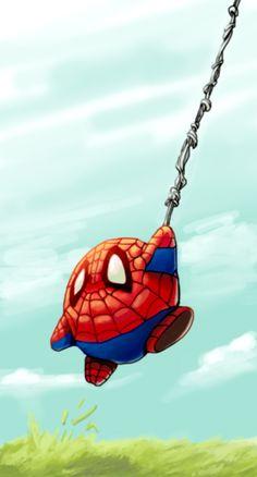 Spider Kirby!
