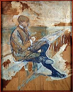 Louis Bouglé by Henri de Toulouse-Lautrec, 1898 Henri De Toulouse Lautrec, Art Nouveau, Figure Painting, Painting & Drawing, Charles Gleyre, Edouard Manet, Camille Pissarro, Edgar Degas, Paul Cezanne