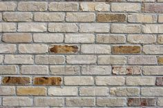 White washed brick.