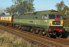 """Class 47 D1705 """"Sparrowhawk"""" Built by Brush at Loughborough in 1965. Withdrawn in 1991. Arrived at the GCR in 1996. Operational."""
