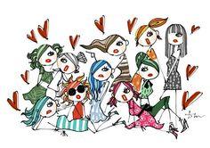 Fashion Director(ファッションディレクター) Fashion Designer(ファッションデザイナー) Art Director(アートディレクター)Illustrator(イラストレーター)Creative Director(クリエイティブディレクター) 三浦大地の過去のイラストレーションアーカイブ Daichi Miura's Archives Illustration