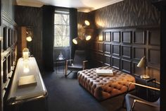 great wall treatment, great ottoman