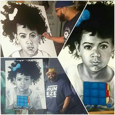 Happy Born Day Blue! The Big 5 | c.ray.art | Dallas, Texas