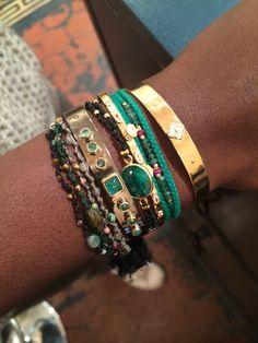 Layers, handmade jewels @ gachonpothier.com