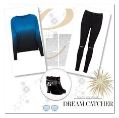 """""""Casual"""" by megeller on Polyvore featuring moda, Miss Selfridge, 360 Sweater, Jimmy Choo e Christian Dior"""