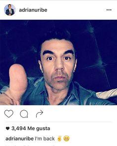 Adrián Uribe revela motivos de su cirugía de nariz