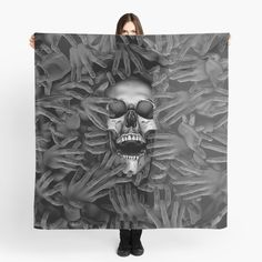 """""""Hell Reclaims It's Own"""" Scarf by GrandeDuc 