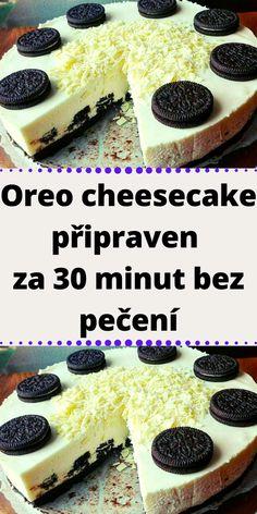 Oreo Cheesecake, Pavlova, Sweet Desserts, 30th, Breakfast, Food, Haha, Morning Coffee, Essen