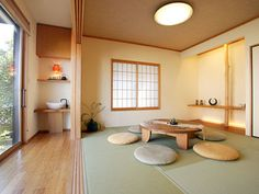 Classy Living Room Decor Ideas With Japanese Style 26 Modern Japanese Interior, Japanese Furniture, Japanese Interior Design, Japanese Home Decor, Room Interior Design, Japanese Table, Japanese Decoration, Modern Design, Furniture Design
