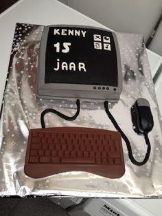 Computer taart