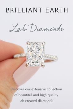 Man Made Diamonds, Lab Created Diamonds, Lab Diamonds, Elegant Engagement Rings, Engagement Ring Styles, Love Ring, Dream Ring, Wedding Stuff, Dream Wedding