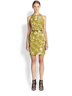Botanical Linen Crepe Dress($279.00) 80% Off #dresses