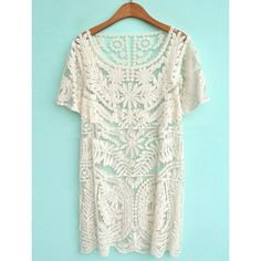 lace dress via Polyvore