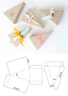 Diy Gift Box, Diy Box, Diy Gifts, Paper Box Template, Diy And Crafts, Paper Crafts, Printable Box, Box Patterns, Party In A Box