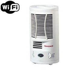 Wireless Spy Camera with WiFi Digital IP Signal, Recording & Remote Internet Access (Camera Hidden in a Fully Functional Air Purifier) by SCS Enterprises. $399.00. Disguised as an Air Purifier( air purifier is fully functional) this Wi-Fi IP camera transmits secure, interference free, video signal directly to your wireless router for remote viewing and recording. Included software allows you to view up to 9 cameras via internet without requiring any 3rd party serv...
