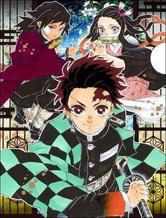 Manga Boy, Manga Anime, Anime Art, Demon Slayer, Slayer Anime, Japanese Poster Design, Demon Hunter, Manga Covers, Cultura Pop