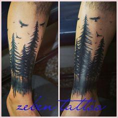 Zeben tattoo bosque ink
