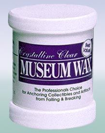 Crystalline Clear Museum Wax Quake Hold! 2 Oz Free Shipping To Have A Long Historical Standing New