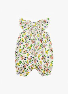 Stella McCartney Kids Sun Baby Girl Floral Print Romper - 363373