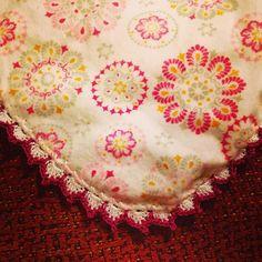 Puntilla #bebe #crochet #pituserias #ganchillo #ganchillocreativo #crochetaddict #puntilla #megustapormegusta
