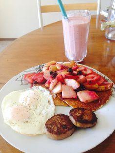 My American breakfast ✌️