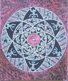 Roy Link Inkalubaluba ~ Circle of Life, 2004 (mandala)