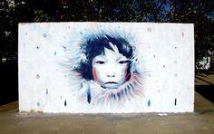 eskimo girl - by christian blanxer