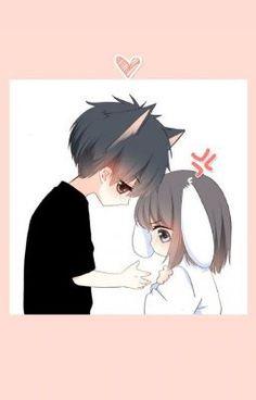An love ctrd Cute Chibi Couple, Cute Couple Cartoon, Cute Couple Art, Anime Love Couple, Anime Couples Drawings, Anime Couples Manga, Cute Anime Couples, Manga Anime, Cute Anime Chibi