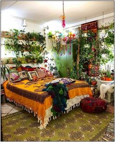 Bohemian Bedroom Design home decor interior design Bohemia Bohemian Bedroom Decor Bedroom Bohemia Bohemian bohemianbedrooms Decor Design Home Interior Bohemian Bedroom Design, Boho Bedroom Decor, Room Ideas Bedroom, Bedroom Designs, Modern Bedroom, Bohemian Bedrooms, Quirky Bedroom, Bedroom Plants Decor, Gypsy Bedroom