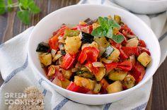 Pieczone warzywa - ratatouille (ratatuj)