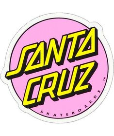 Santa Cruz Other Dot Light Pink can find Santa cruz and more on our website.Santa Cruz Other Dot Light Pink 3 Bubble Stickers, Phone Stickers, Cool Stickers, Printable Stickers, Brand Stickers, Funny Stickers, Santa Cruz Stickers, Santa Cruz Logo, Hippie Vintage
