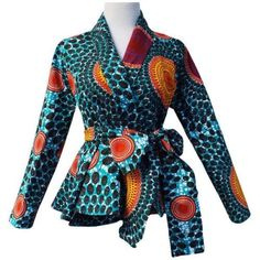 Shop African Print (Ankara) Blouses, Crop Tops, Tops, Danshiki Tops, Peplum African tops from ATMkollectionz. The best online store for beautiful ready to wear African clothing for women and children. We carry all sizes for plus size curvy women. African Fashion Designers, African Inspired Fashion, African Print Fashion, Africa Fashion, Fashion Prints, Men's Fashion, Fashion Outfits, Fashion Ideas, Fashion Styles
