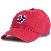 Ohio Traditional Hat in Red by State Traditions #countryclubprep