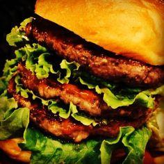 Triple Patty Burger