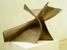 Antoine Pevsner 'Dynamic Projection at Thirty Degrees', 1951-52 by hanneorla, via Flickr